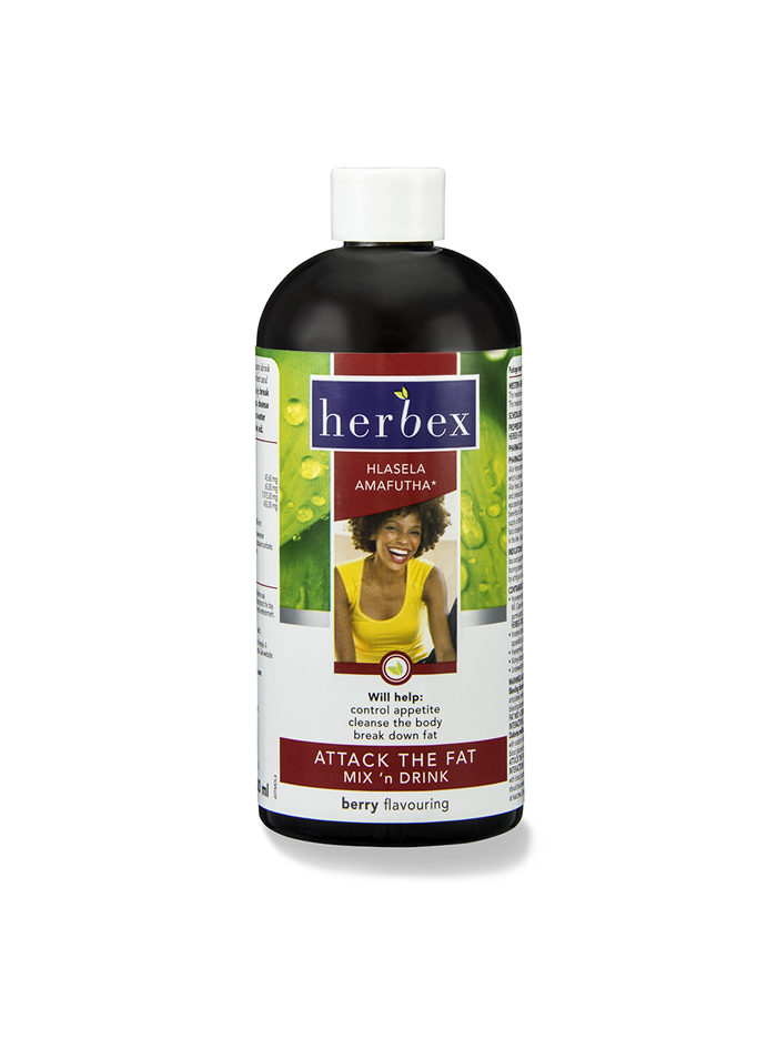 Herbex Attack The Fat Mix 'n Drink (Berry)