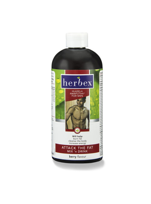 Herbex Attack The Fat For Men Mix 'n Drink