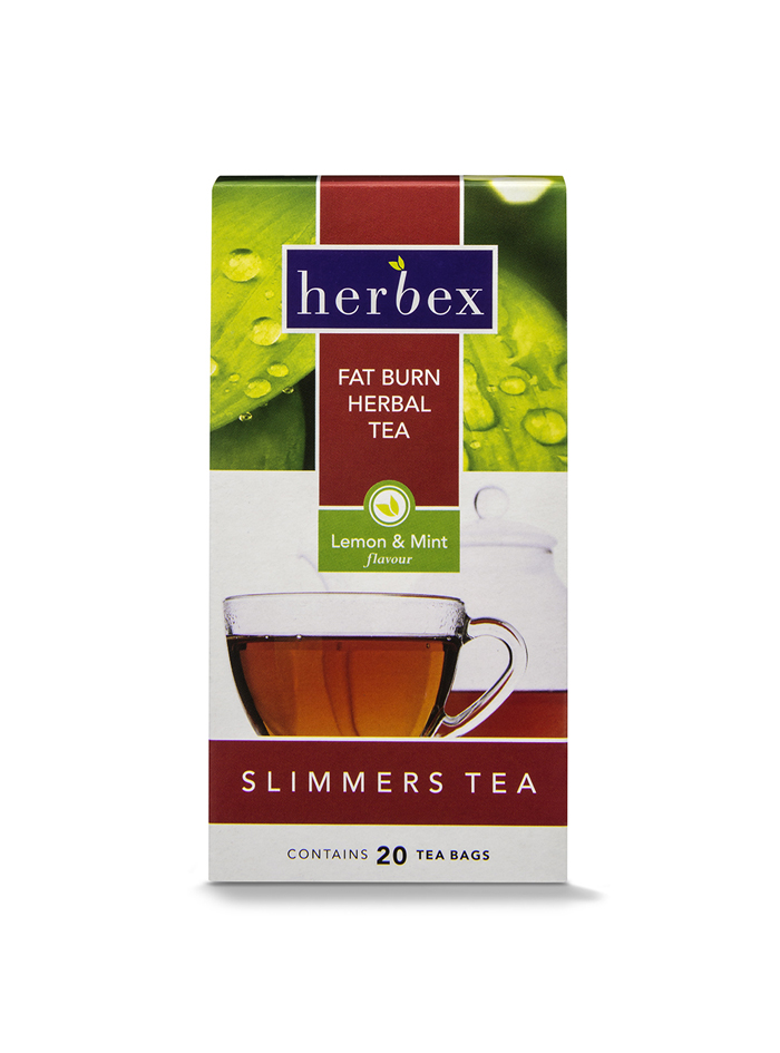 Herbex Fat Burn Herbal Tea 20s (Lemon & Mint)